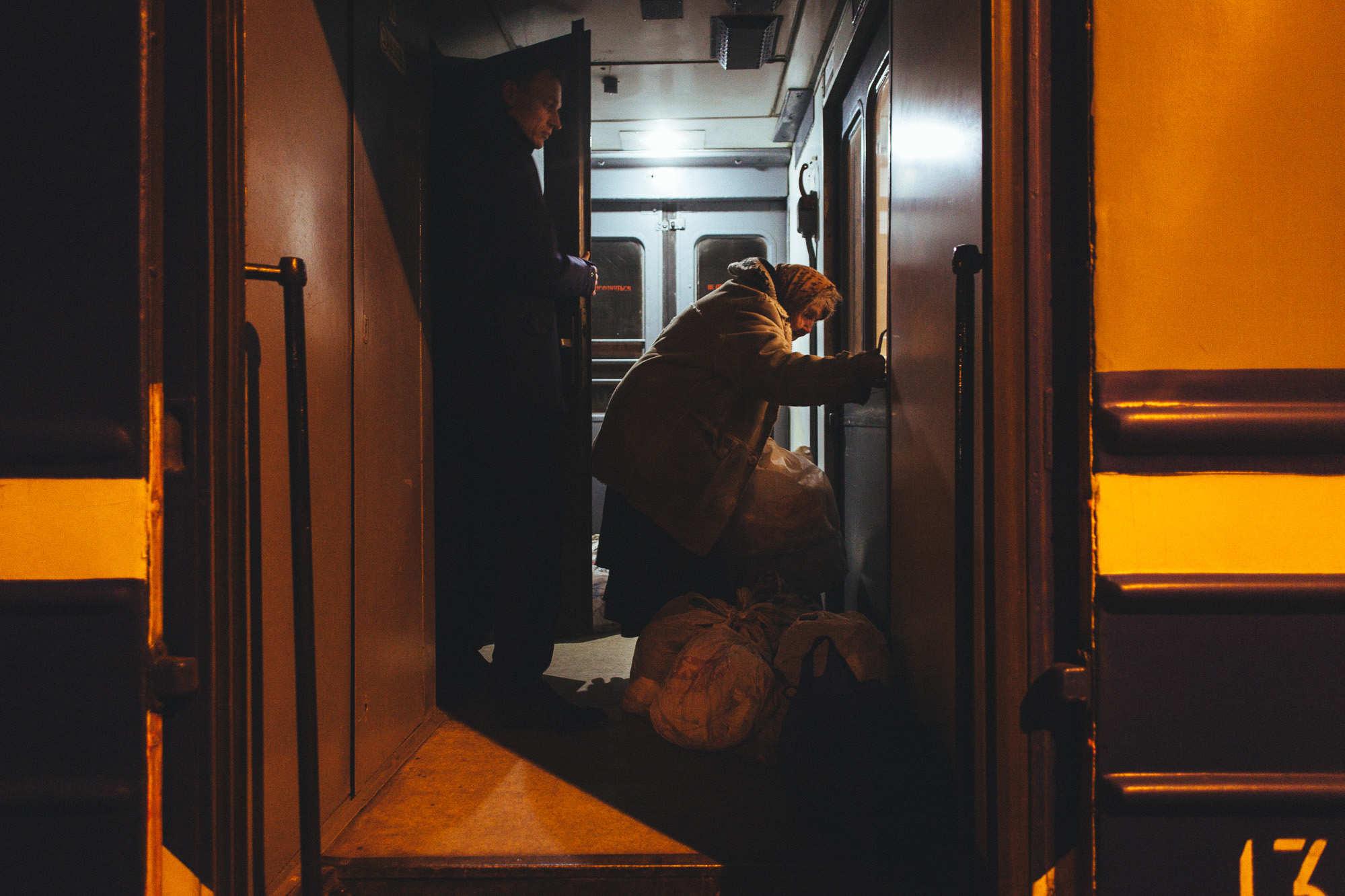 Крепость на колесах. Бабушка Нелли шесть лет живет в поездах и боится возвращаться домой