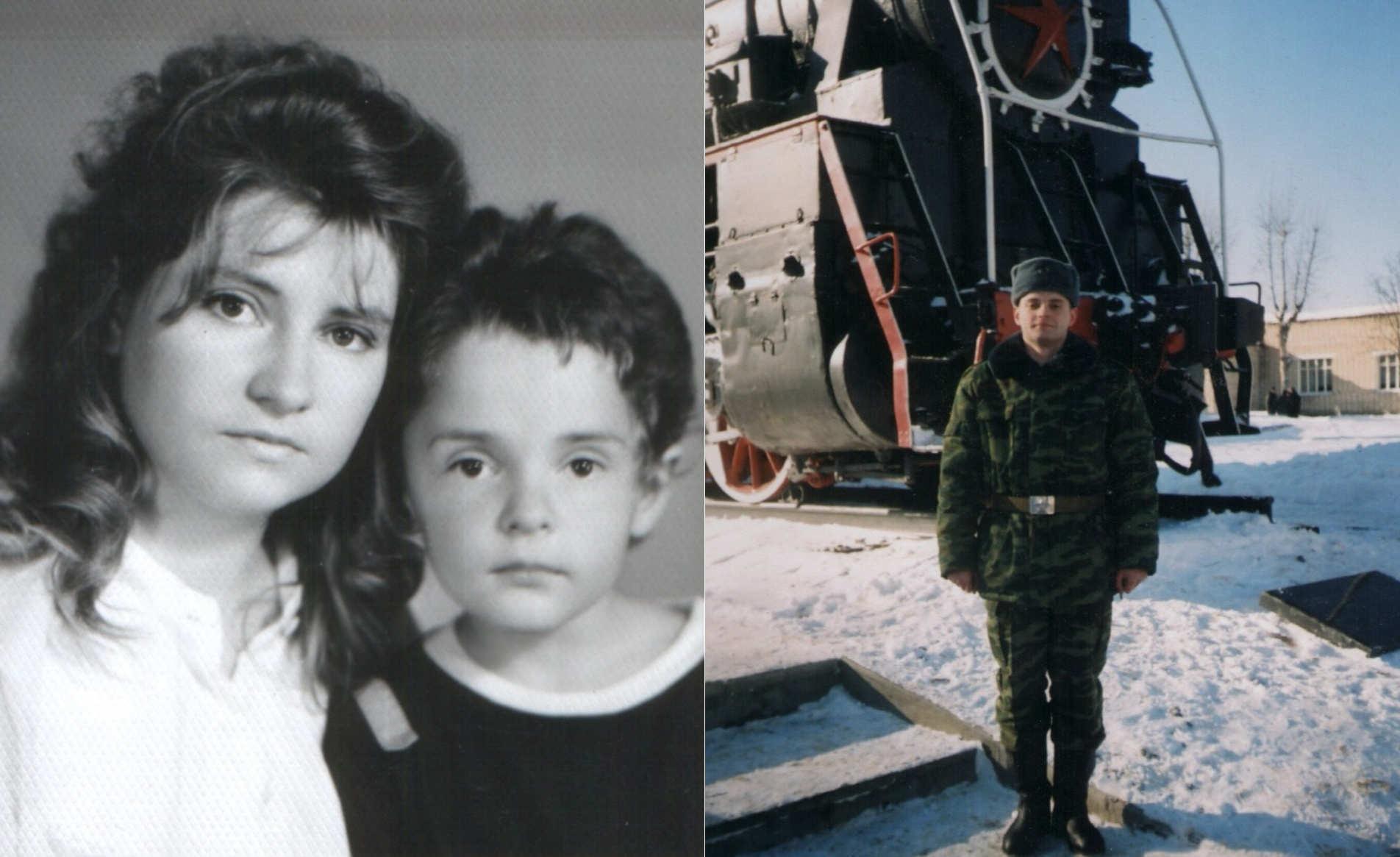 Павел был единственным ребенком в семье. Его матери понадобилось два года, чтобы доказать, что сына убил сослуживец. Фото из личного архива героини.